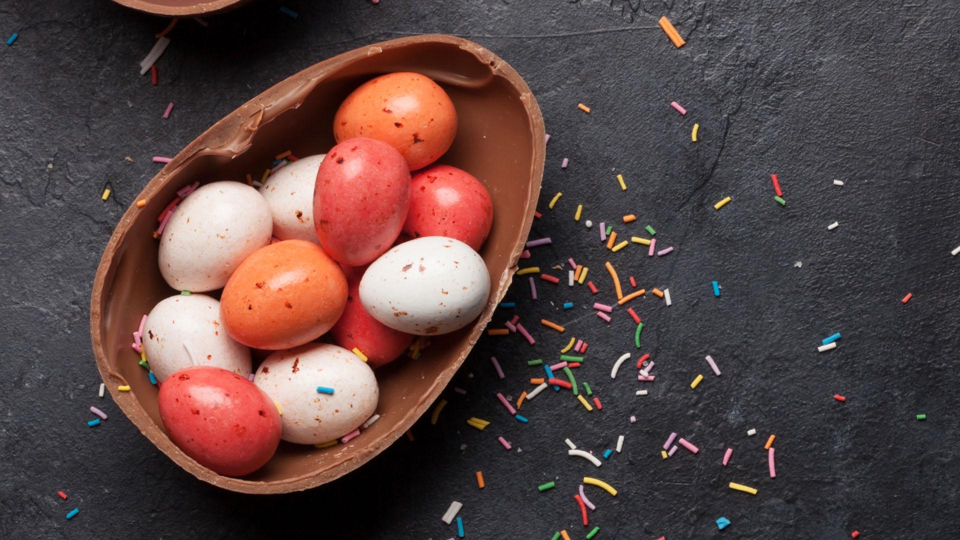 Foto notícia - Ovos de Páscoa