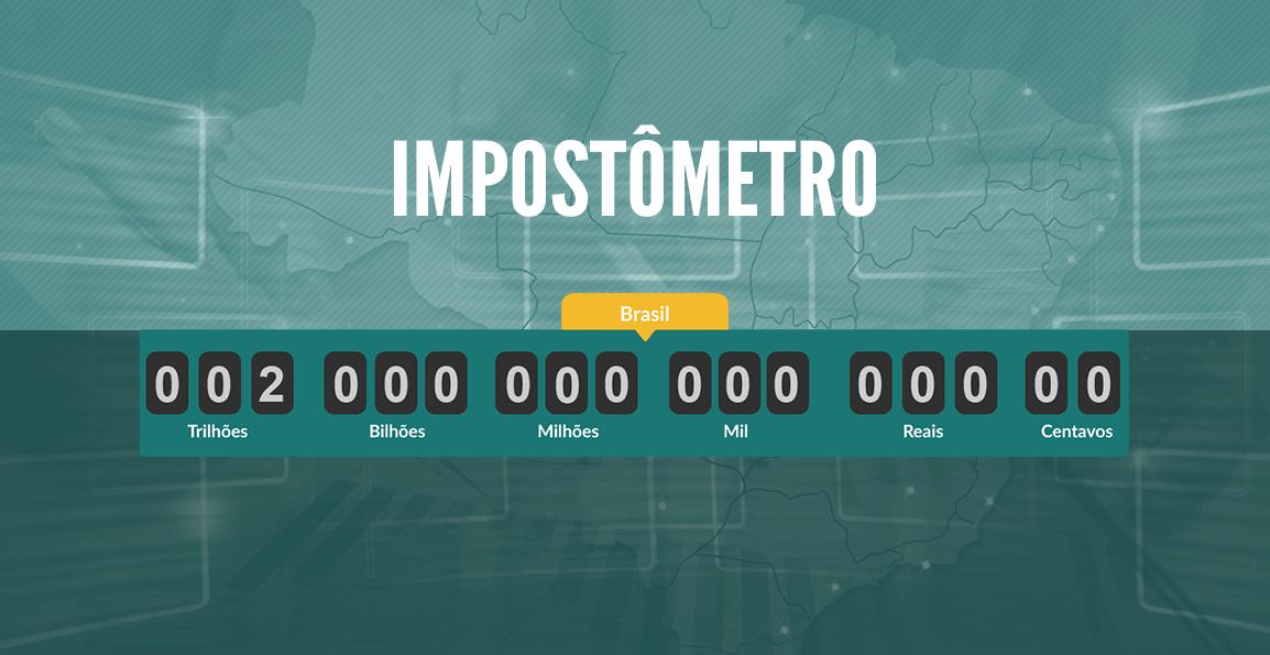 Foto notícia - Relógio do Impostômetro